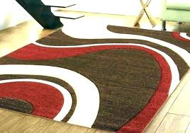 burdy cream brown area rug red and green new modern rugs living room for medium size