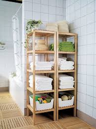 view in gallery molger open closets from ikea that match the bathroom floor