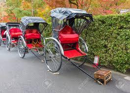 Jinrikisha Or Japanese Rickshaw For Tourist Sightseeing In Arashiyama,  Kyoto In Japan Stock Photo, Picture And Royalty Free Image. Image 117174852.