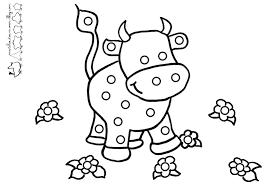 Vache 36 Animaux Coloriages Imprimer