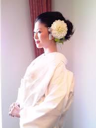 花嫁 髪型 和装 洋髪 Sanpatsu