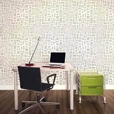 matrix allover stencil modern pattern