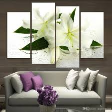 2018 unframed lily white flower wet oil painting on canvas giclee wall art painting art picture for home decor from angelart168 8 05 dhgate com