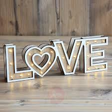 Tafellamp Aimi Led Batterijen Love Lampen24 Nl Decoratieve