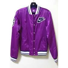 nike bomber jacket. nike purple bomber jacket