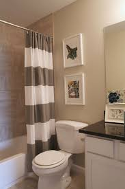 Bathroom Sink Curtains 17 Best Ideas About Striped Shower Curtains On Pinterest Navy