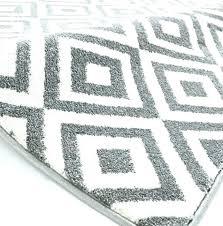 gray and white bathroom rugs black