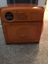 sharp half pint microwave oven. sharp carousel half pint compact microwave oven dorm rv camper r-120ds orange r