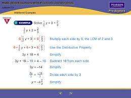 3 pre algebra