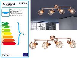 Deckenlampen Kronleuchter Kupfer Länge 635 Cm Eglo