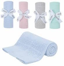 90 x 70cm 100 cotton cellular baby