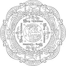 Small Picture 8 Christmas Coloring Pages For Adults Dover publications Dovers