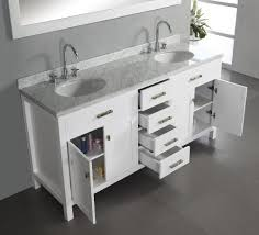 double sink bathroom vanity with top. virtu usa md-2072-wmro-wh caroline 72-inch double sink bathroom vanity with italian white carrera marble countertop and mirror, finish - amazon.com top