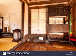 traditional korean furniture. Typical Interior Of Traditional Korean Noble Man\u0027s House, Namsangol Hanok Village, Seoul, Korea Furniture N