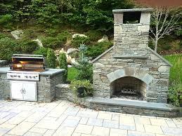 outdoor fireplace stone veneer stinless stone veneer outdoor fireplace plans