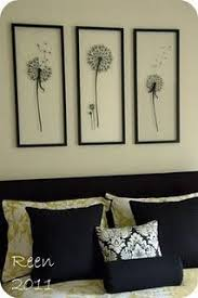 take the backs out of frames and apply vinyl stickers directly on mixing decor styles my