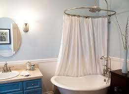 clawfoot tub shower curtains ideas clawfoot tub shower curtain liner