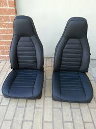 porsche 911 912 924 944 seat kit blk