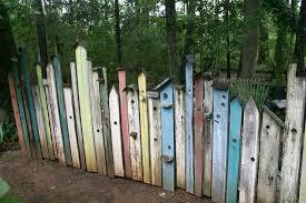 garden fencing. Unique Birdhouse Garden Fence Fencing