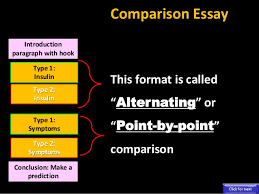 comparison contrast comparison essay introduction