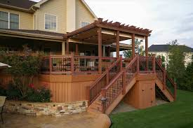 Bi Level Deck Designs Deck Designs For Split Level Homes Lumos Design House Board