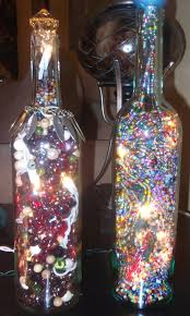 Decorative Bottle Lights Decorative Wine Bottles With Lights Inside I Made Very