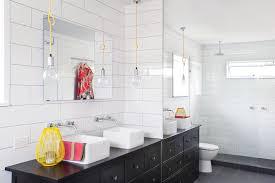 houzz bathroom lighting bathroom contemporary with lightbulb pendant wall mirror