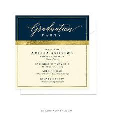 Formal Graduation Announcements Formal College Graduation Invitations University Graduation