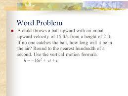 5 word problem