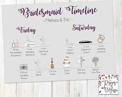 wedding day itinery bridesmaid timeline wedding day timeline brides gal