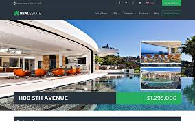 Real Estate Website Templates Beauteous 48 Best Real Estate WordPress Themes 48 AThemes