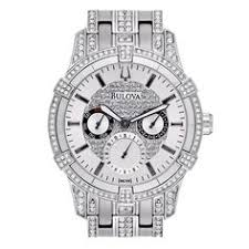 bulova 96g46 dress mens watch list price 250 00 our price 187 50 bulova mens watch crystal stainless steel quartz day date silver tone dial