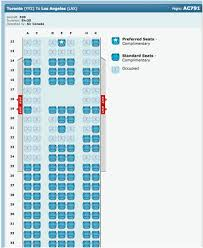 Air Canada Plane Seating Chart 767 300 Air Canada Seat Map Secretmuseum