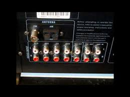 stereo hook up tuner eq and receiver amp wiring part 1