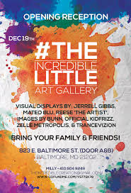 Art Event Flyer Around Town New Gallery In Town Baltimore Arts