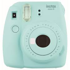 Fujifilm Instax <b>Mini</b> 9 Instant <b>Camera</b> (<b>Ice</b> Blue) | JB Hi-Fi