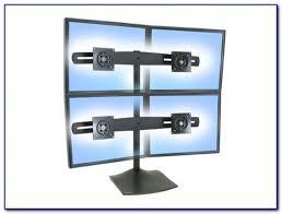 ergotron ds100 quad monitor desk stand
