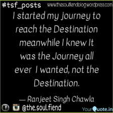 Journey Quotes Delectable I Started My Journey To R Quotes Writings By Ranjeet Singh