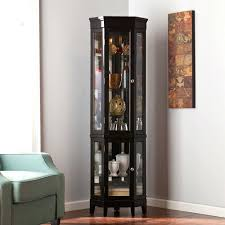 Rustic Corner China Cabinet Top Corner China Cabinet Modern Dining