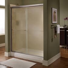 american standard euro 48 in x 65 5 in semi frameless sliding shower door