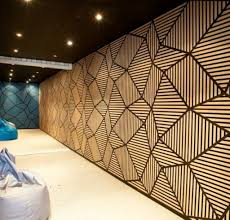 Small Picture Decorative Acoustic Wall Panels Fabric Decorative Acoustical