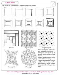 Zentangle Patterns Step By Step Amazing New pattern Log Cabin Ina's Tangles
