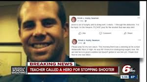 Noblesville Teacher Shot 3 Times While Stopping Shooter Released