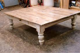 Antique White Coffee Tables Rustic Farmhouse Coffee Table Ana White