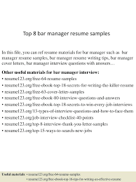 bar manager job description resume examples resume bar manager resume