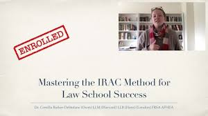 What is irac method in law. Mastering The Irac Method For Law School Success Camilla Barker Destefano Skillshare