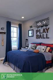 Football Room Decor Themed Ideas Year Old Bedroom Bedding
