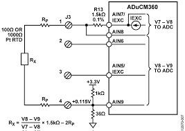 cn0359 circuit note analog devices configuration for 2 wire rtd connection
