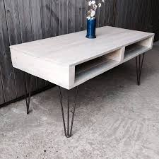 Hairpin Leg Coffee Table Paint