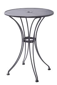 outdoor erfly bar table with 30 round steel mesh top intended with regard to modern home 30 round pub table designs